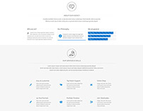 Corporate – One Page Site Free Template