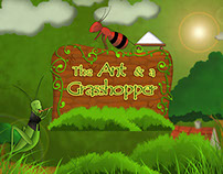 the ant and the grasshopper - Personal work