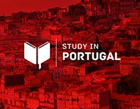 Logótipo Concurso Study In Portugal - Proposta nº1