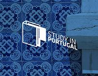 Logótipo Concurso Study In Portugal - Proposta nº3
