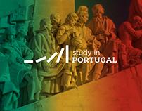 Logótipo Concurso Study In Portugal - Proposta nº