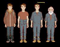 BORRADO / Character Design