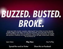Buzzed. Busted. Broke. Facebook Game