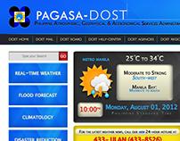 PAGASA-DOST Philippine Weather Bureau Web Designs