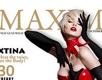 Revista MAXIM y FRESCA 2014 PHOTOSHOP CC