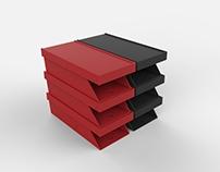 Sapateira modular  -  Modular shoe box