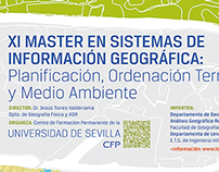 """XI Masters in GIS"""