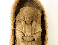 Pope in a loaf