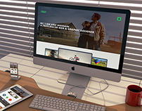 Freedom - Personal Web Template Design