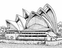 The Sydney Scroll - Circular Quay and Harbour Bridge