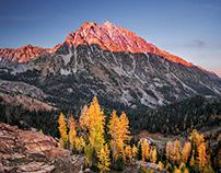Mt Stuart Alpenglow