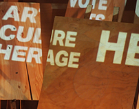 Vote Arts Culture Heritage