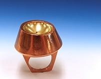 Hollow Salt Shaker Ring