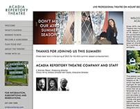 Acadia Repertory Theatre Website
