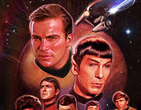 Official Star Trek Prints