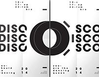 Affiches Typographiques sur le Disco