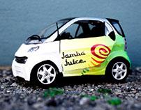 Jamba Juice Car Wrap