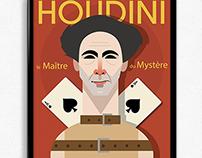Houdini (TV Show) The Master of Mystery Illustration