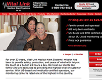 Vital Link, Inc. Website