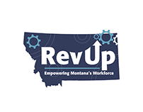 RevUp Montana Logo