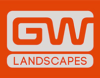 Greater West Landscapes Business Card Design