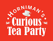Hornian's Curious Tea Party - Live Art