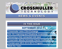 Crossmuller Email Newsletter