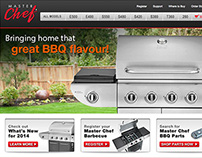 Master Chef BBQs Website