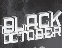 The Black October_Font
