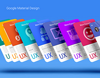 UX Material Design Cards