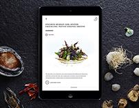 Peter Gilmore iPad app