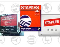 2000: Staples Icon/Brand Development