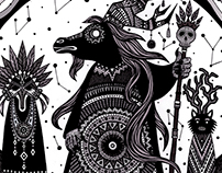 "Personal illustration - ""Celebratory rite"""