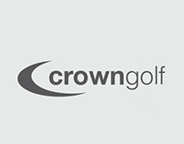 Lifestyle Golf Branding for Crown Golf