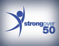 Strong Over 50 - Logo Design