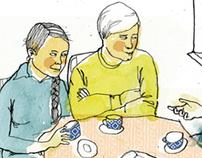 mental illnesses / editorial illustrations