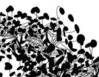 "DATASHOCK / NADJA collab 12"" inch  ___ artwork"