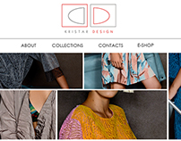 Kristar Design web design