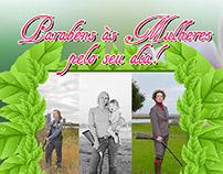 Digital flyer - Dia das mulheres