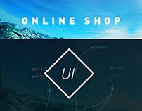 DESPORT - Online shop web concept