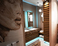 Main Bathroom - Private Residence -