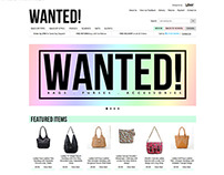 WantedBags ebay shop design