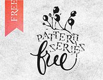 Free pattern series