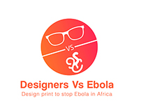 "Designers Vs Ebola ""Design print to stop Ebola in Afric"