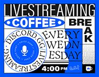 EVERY WEDNESDAY: Livestreaming Coffee Break