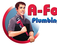 A-Fordable Plumbing Custom Logo and Wrap