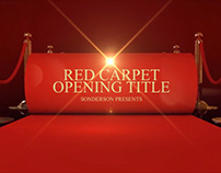 Red Carpet Openning Title