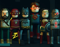 My Justice League - Fan art