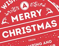 Animated Christmas Card HTML5