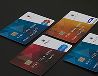 ABLV payment cards design